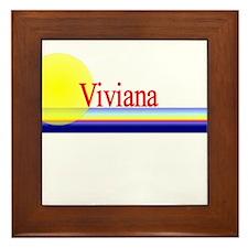 Viviana Framed Tile