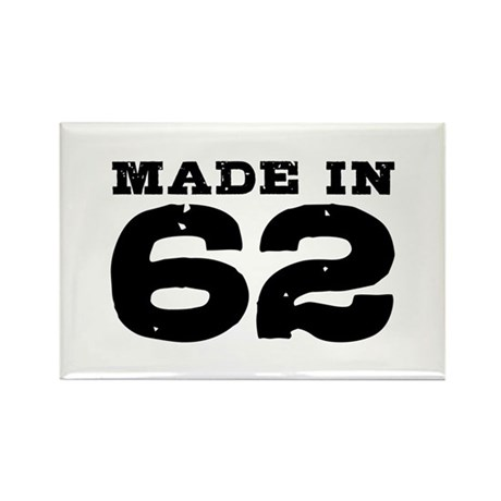 Made in 62 Rectangle Magnet