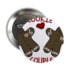 "Cookie Couple 2.25"" Button"