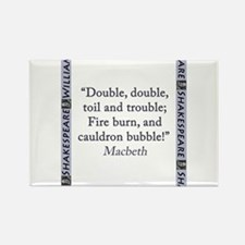 Double, Double, Toil and Trouble Magnets