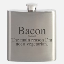 Bacon Black Flask