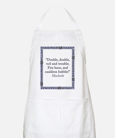 Double, Double, Toil and Trouble Light Apron