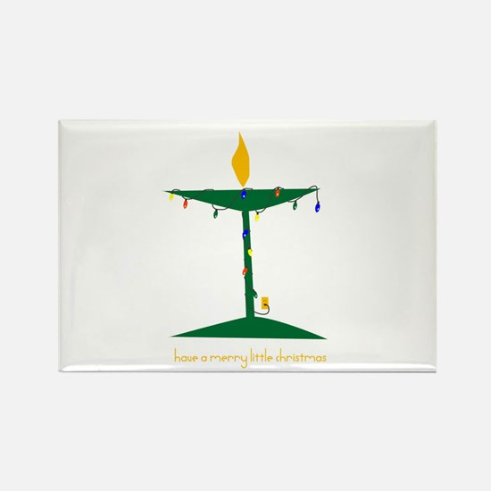 UU Christmas Tree Rectangle Magnet