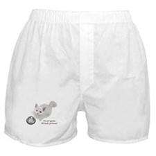 Feed Me Kitty Boxer Shorts