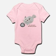 Feed Me Kitty Infant Bodysuit