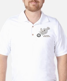 Feed Me Kitty Golf Shirt
