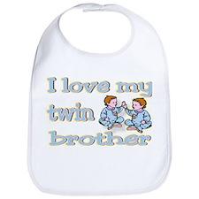 """Baby Twin Brother"" Bib"