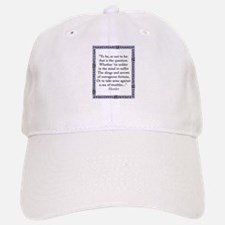 To Be Or Not To Be Baseball Baseball Baseball Cap