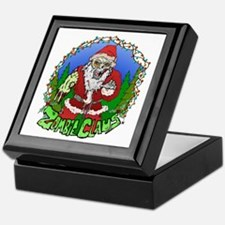 Zombie Claus Keepsake Box
