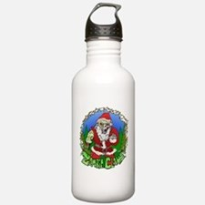 Zombie Claus Sports Water Bottle