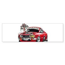 SLIPIN Rotary RX3 Coupe Bumper Stickers