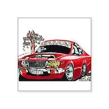 "SLIPIN Rotary RX3 Coupe Square Sticker 3"" x 3"""