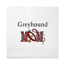 Greyhound Mom Queen Duvet