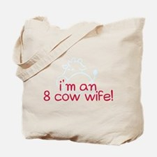 8 cow wife Tote Bag