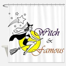 witch famous Shower Curtain