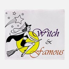 witch famous Throw Blanket