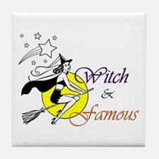 witch famous Tile Coaster