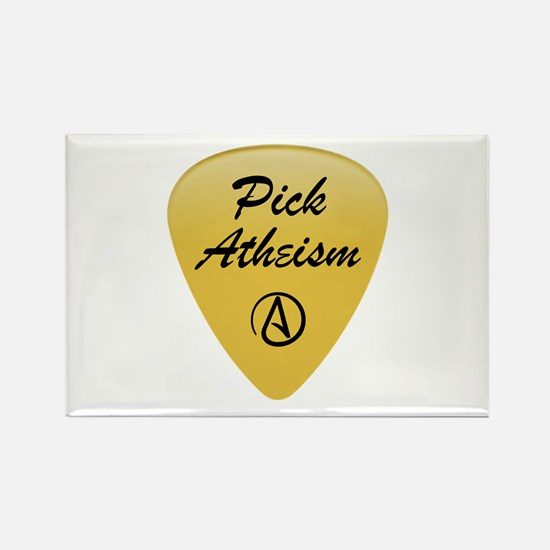Pick Atheism Rectangle Magnet