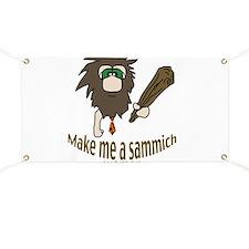 Caveman sammich Banner