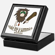 Caveman sammich Keepsake Box
