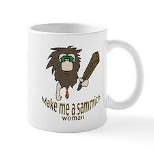 Caveman sammich Small Mug