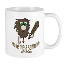 Caveman sammich Small Mugs