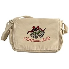 Christmas Belle Messenger Bag
