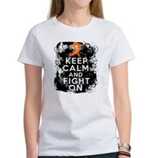 Multiple Sclerosis Keep Calm and Fight On Tee
