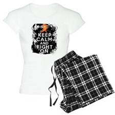 Multiple Sclerosis Keep Calm and Fight On Pajamas