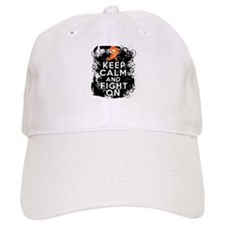 Multiple Sclerosis Keep Calm and Fight On Baseball Cap