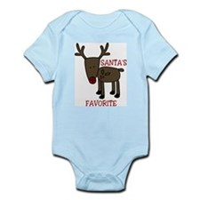 Santas Favorite Infant Bodysuit