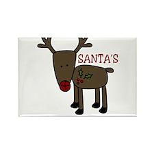Santas Favorite Rectangle Magnet