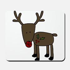 Standing Reindeer Mousepad