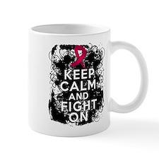 Multiple Myeloma Keep Calm and Fight On Mug