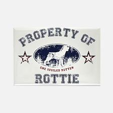 Rottie Rectangle Magnet