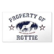 Rottie Decal