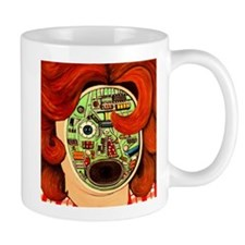 Female Robot Mug