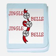 Jingle Bells baby blanket