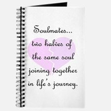 Soulmates (faded heart design) Journal