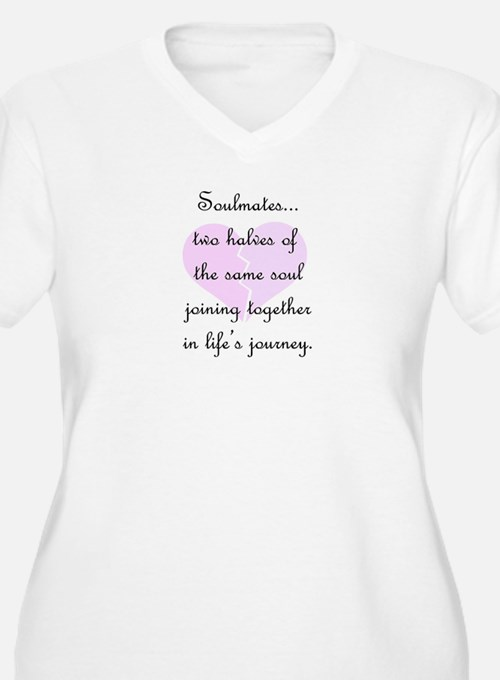 Soulmates (faded heart design) T-Shirt