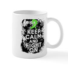 Lymphoma Keep Calm and Fight On Mug