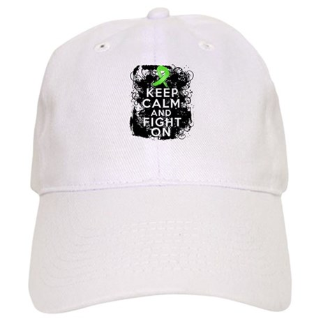 Lymphoma Keep Calm and Fight On Cap