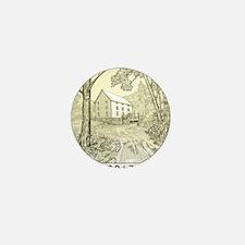 Missouri Quarter 2017 Mini Button