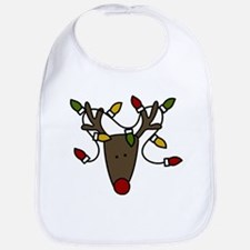 Holiday Reindeer Bib