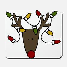 Holiday Reindeer Mousepad