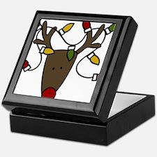 Holiday Reindeer Keepsake Box