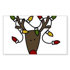 Holiday Reindeer Decal