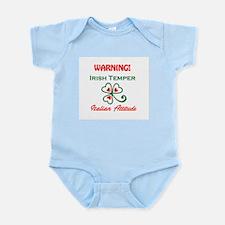 Irish Temper Italian Attitude Infant Bodysuit