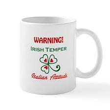 Irish Temper Italian Attitude Small Mug