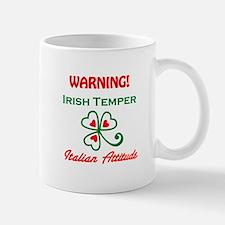 Irish Temper Italian Attitude Small Small Mug